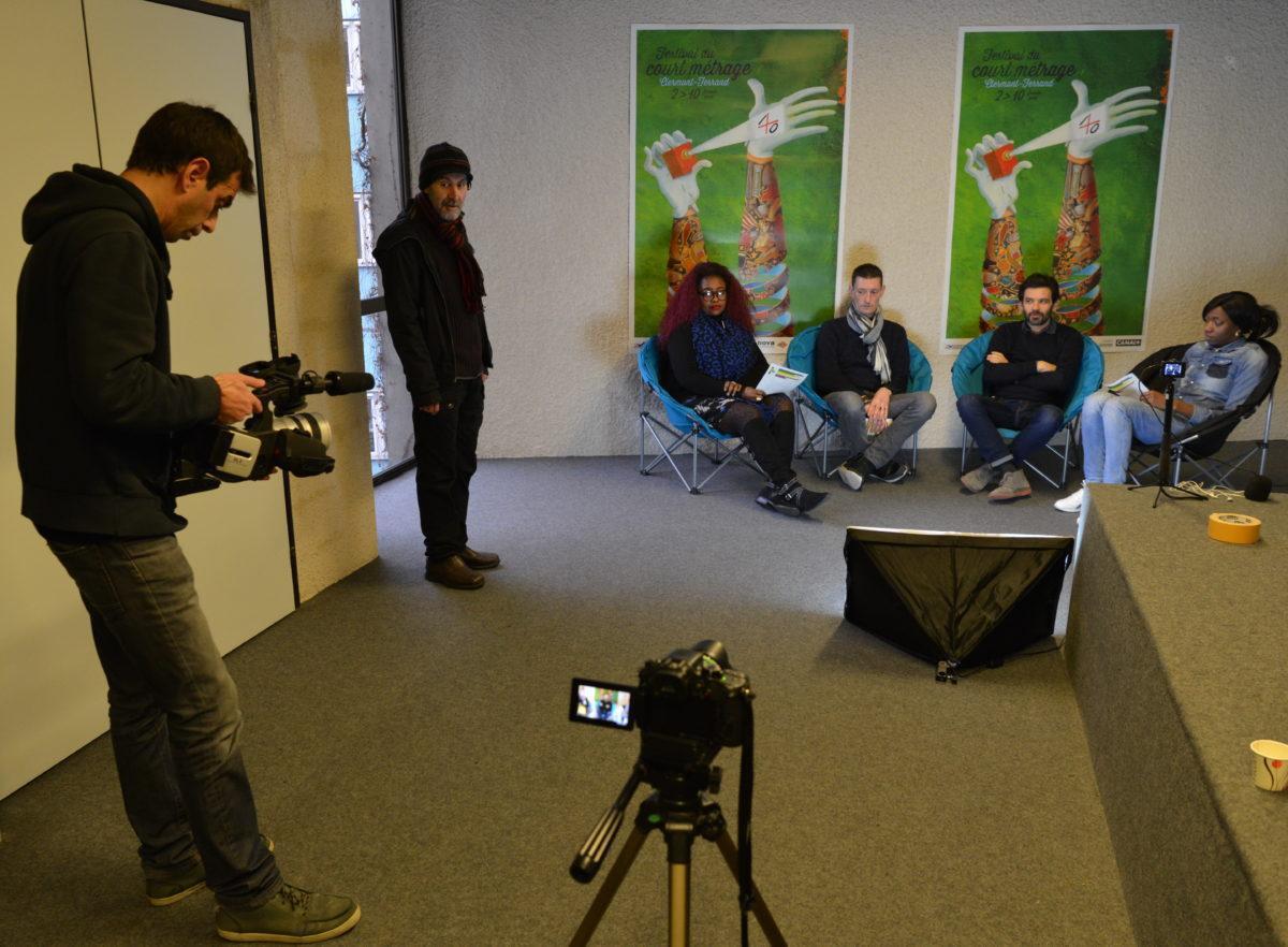 Interview de David Bouttin, réalisateur du court métrage Boomerang,  avec l'association ACT63.