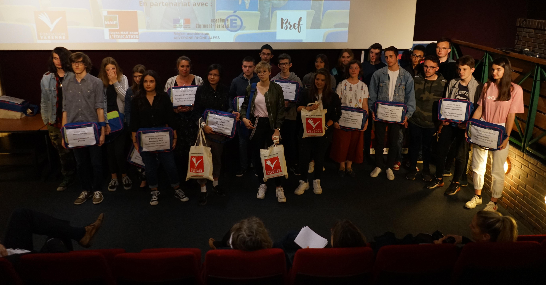 Lauréats 21e concours de la jeune critique cinématographique